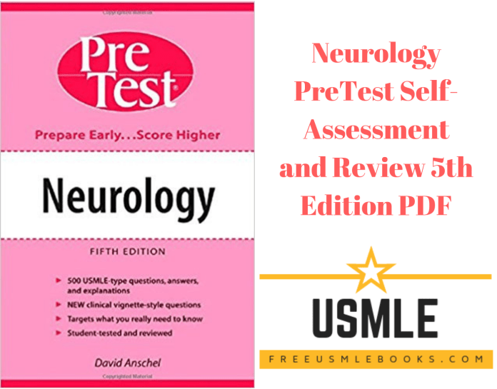 Download Neurology PreTest Self-Assessment and Review 5th Edition PDF Free