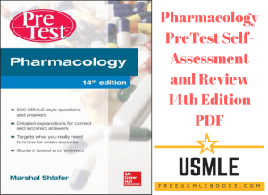 Download Pharmacology PreTest Self-Assessment and Review 14th Edition PDF Free