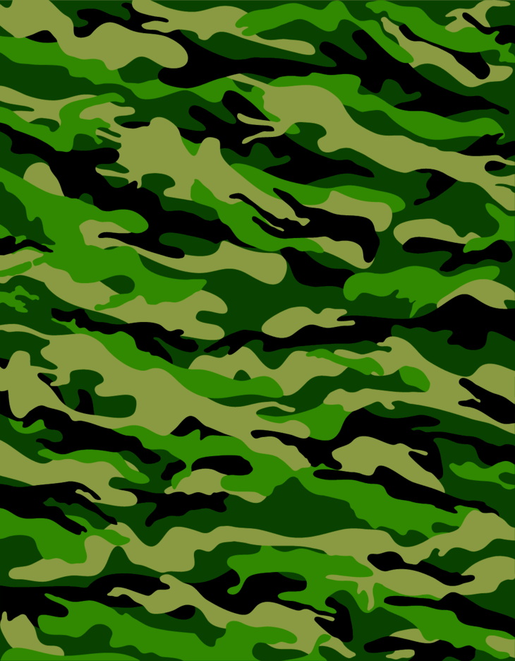 forest camouflage pattern freevectors