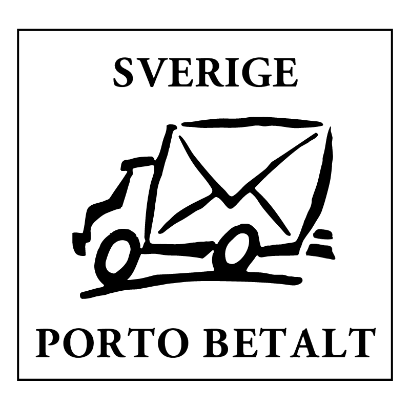 Sverige Porto Betalt ⋆ Free Vectors, Logos, Icons and