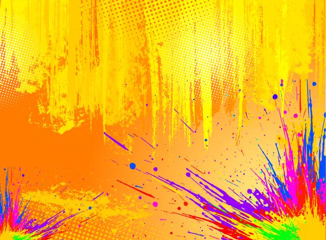 Splatter Paint Wallpaper