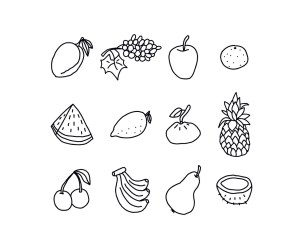 fruits vector mango freevector