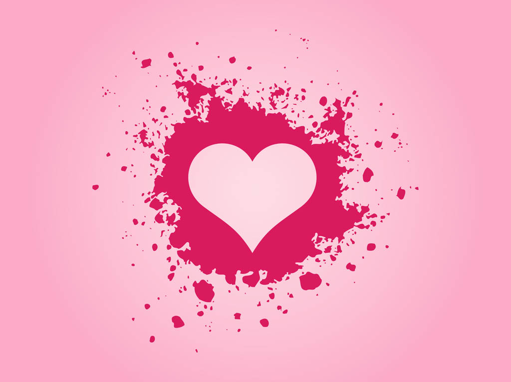 Download Pink Grunge Heart Vector Art & Graphics | freevector.com