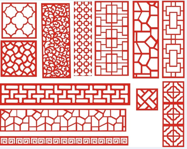 Free Laser Cut Patterns DXF File Download   Free Vector