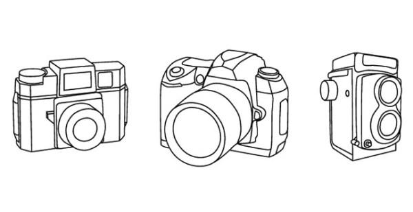 Camera Vectors Free Vector Site Download Free Vector