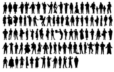People Silhouette Free Vector Site Download Free Vector Art Graphics