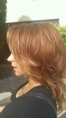 Another picture of a client that got her hair done by Leana. (Photo by Leana Washington)