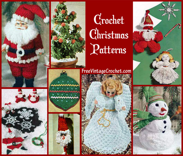 crochet christmas chair covers pool towel patterns snowflake other