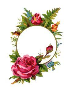 vintage whimsical rose wreath ring 1