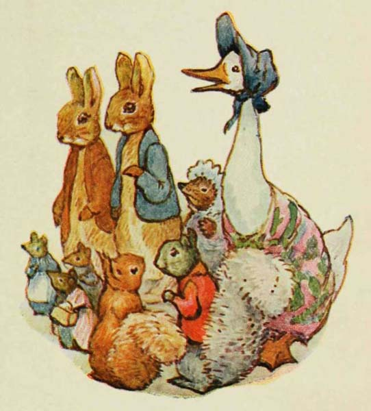 Free vintage children's book illustrations