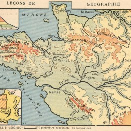 vintage french map print public domain