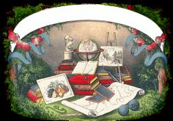 antique public domain school supplies image