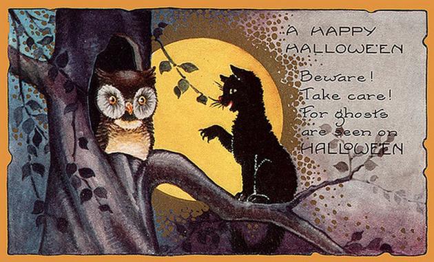 FREE Public Domain Vintage Halloween Illustrations \u0026 Craft