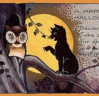 FREE Public Domain Vintage Halloween Illustrations & Craft ...