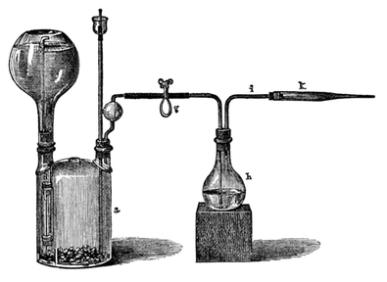 vintage public domain chemistry illustration