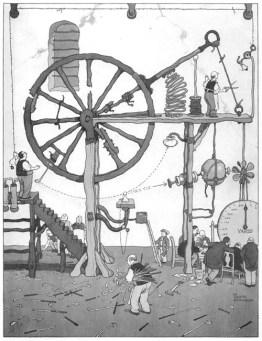 william-heath-robinson-contraptions-public domain