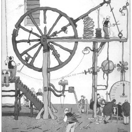 william-heath-robinson-contraptions-public domain