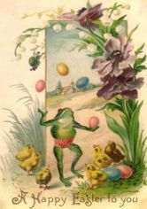 Frogs. Disregarding chickens since the old days.