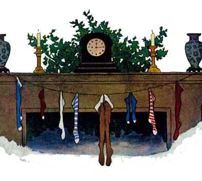 public domain christmas illustration vintage childrens book jessie wilcox smith