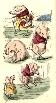 public domain ittle piggies vintage childrens books