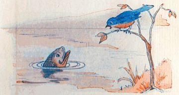 public domain vintage childrens book illustration the magic soap bubble 2 david corey