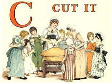 public domain vintage childrens book illustrations kate greenaway apple pie c