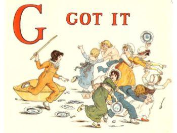 public domain vintage childrens book illustrations kate greenaway apple pie g