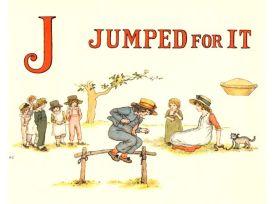 public domain vintage childrens book illustrations kate greenaway apple pie j
