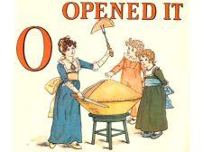public domain vintage childrens book illustrations kate greenaway apple pie o
