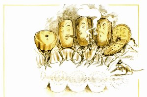 public domain vintage childrens cookbook illustration 3