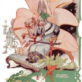 public domain vintage color book 11 illustration emerald city of oz