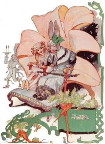 public domain vintage color book 11 illustration emerald city of oz