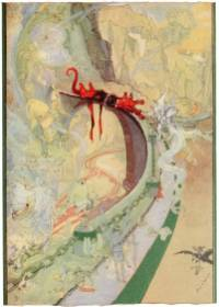 public domain vintage color book 7 illustration emerald city of oz