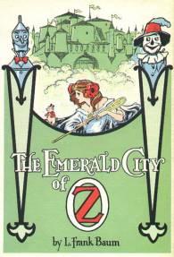 public domain vintage color book illustration emerald city of oz