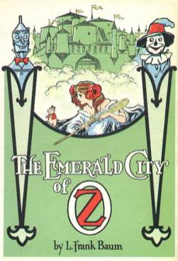 public domain vintage color book illustration emerald city of oz