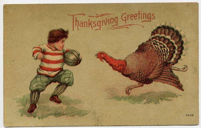 A free vintage thanksgiving greeting in the public domain