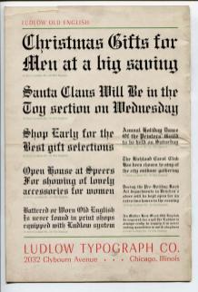 free antique christmas graphics 1940s image 7