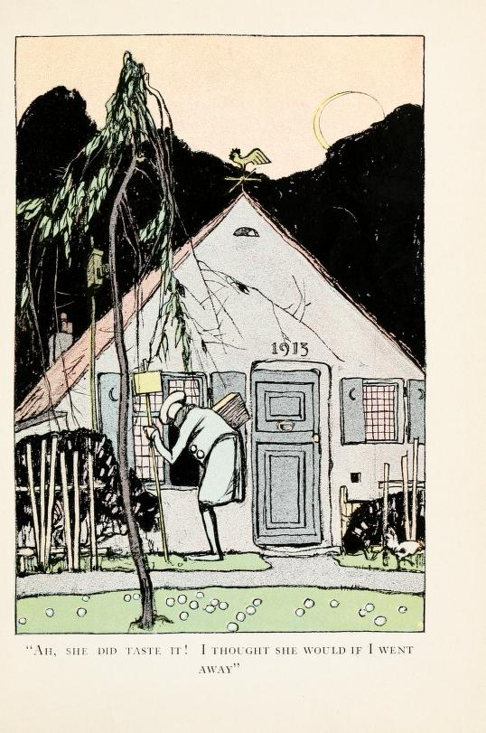 A free vintage illustration from a 1913 public domain version of Snow White