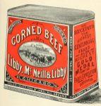 free vintage color illustration of corned beef image 2