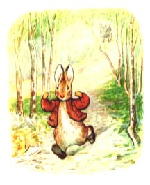 free vintage illustration of beatrix potter benjamin bunny 3