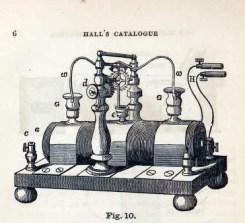 vintage scientific illustration medical equipment electrotome machine