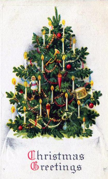 Public Domain Vintage Christmas Images : public, domain, vintage, christmas, images, Vintage, Christmas, Cards, Public, Domain, Illustrations