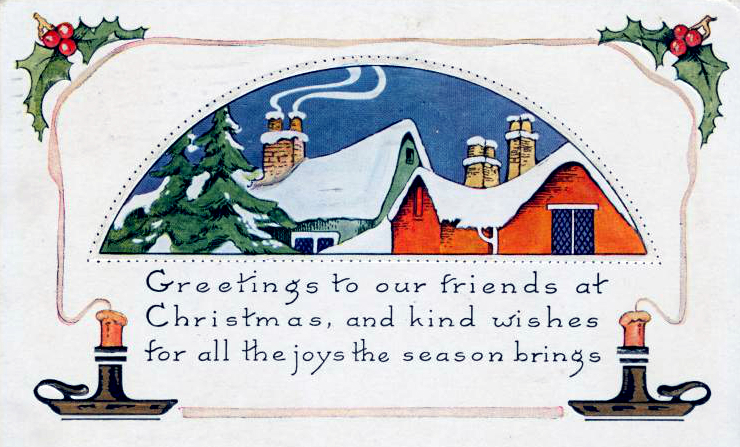 Editing Your Vintage Christmas Cards For Free