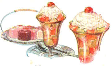 vintage jello cookbook jello cube dessert