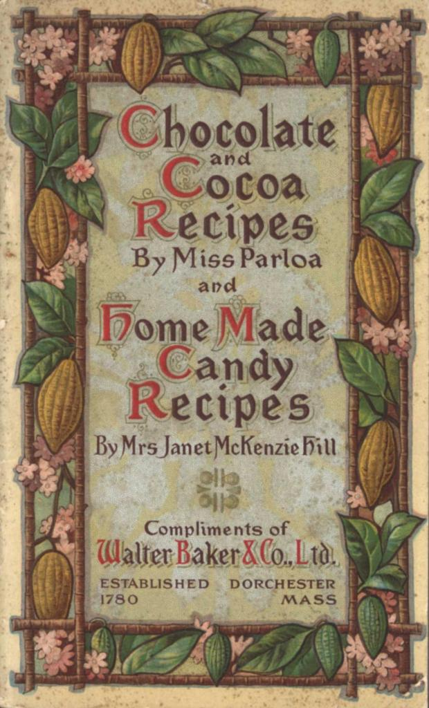 This Public Domain Cookbook Is Packed With Vintage Chocolate Recipes You Can Try At Home Its Also Filled With Chocolate Illustrations For All Types Of