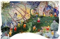 vintage fairies fairyland illustration 1919 public domain