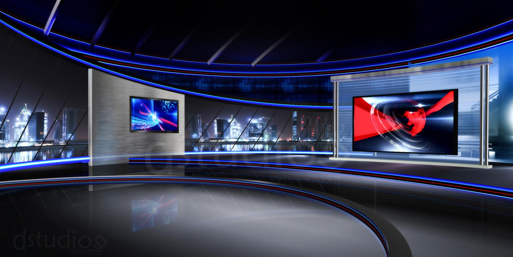 News Studio Background Free Download