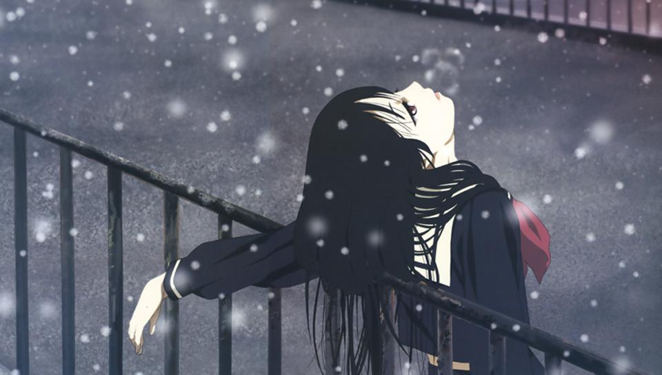 Download Sad Girl In Snow Wallpaper Enma Ai Snow Ps Vita Wallpapers Free Ps Vita Themes And