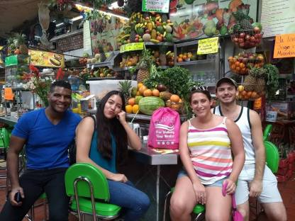 Eating Healthy in the Guadalajara street food tour by Free Walking Tour Mexico