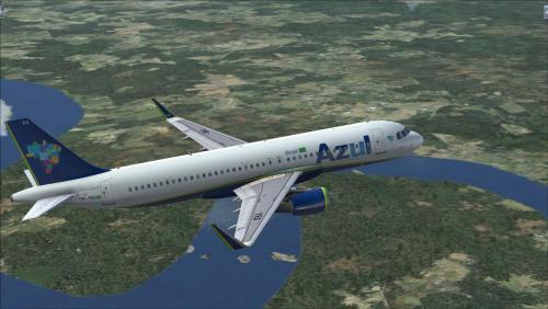 Azul Linhas Aéreas PRYRA Airbus A320 CFM Airbus A320
